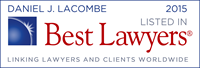 Best Lawyers Badge 2015