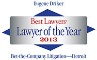 Best Lawyers Badge 2013